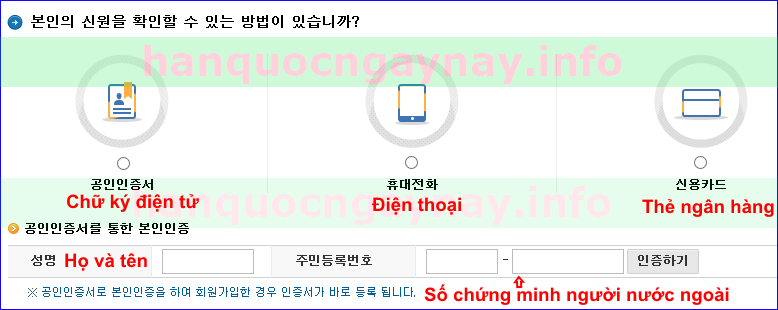 hanquocngaynay.info - Đăng ký tài khoản trên HomeTax