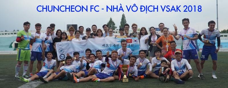 Chuncheon FC- Nhà vô địch VSAK 2018