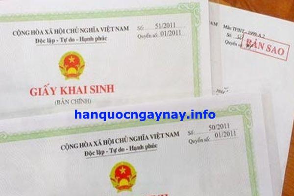 hanquocngaynay.info - Khai sinh