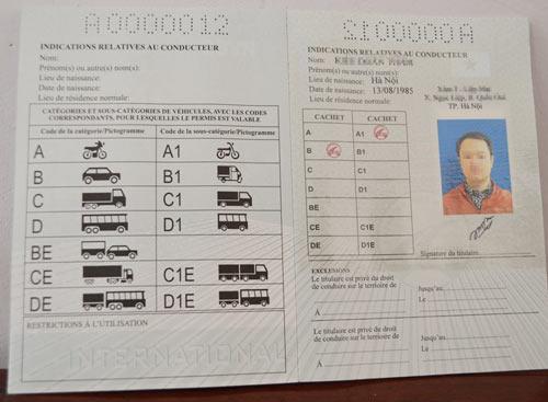 hanquocngaynay.info - Giấy phép lái xe quốc tế Việt Nam