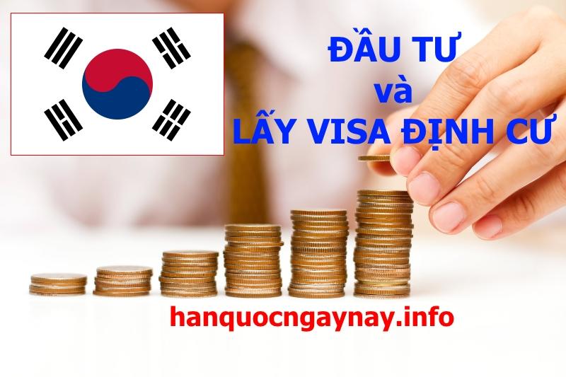 Thẻ xanh Hàn Quốc dành cho nhà đầu tư lớn